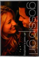Framed Gossip Girl - All I Want is Everything