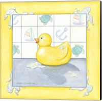 Framed Small Rubber Duck II