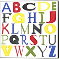 Framed Kid's Room Letters