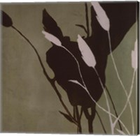 Framed Fleur'ting Silhouettes III