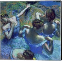 Framed Blue Dancers, c.1899