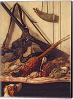 Framed Hunting Trophies, 1862