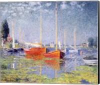 Framed Argenteuil, 1875