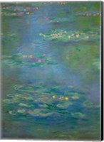 Framed Waterlilies, detail, 1903