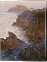 Framed Rocky Point at Port-Goulphar