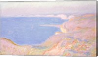 Framed On the Cliffs near Dieppe, Sunset, 1897