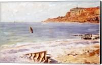 Framed Seascape at Sainte-Adresse