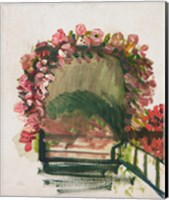 Framed Roses arches, Giverny, 1912-13