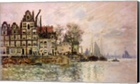 Framed Port of Amsterdam