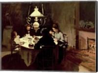 Framed Dinner, 1868-9