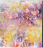 Framed Impression: Flowers