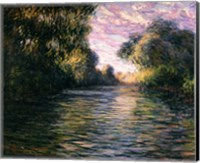 Framed Morning on the Seine, 1897
