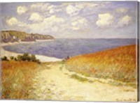 Framed Path in the Wheat at Pourville, 1882