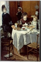 Framed Breakfast, 1868