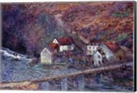 Framed Bridge at Vervy, 1889