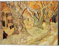 Framed Road Menders, 1889