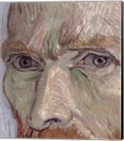 Framed Self Portrait, 1889 (detail)