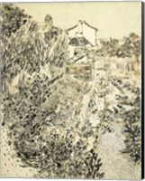 Framed Flower Garden, 1888