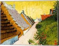 Framed Farmhouses at Saintes-Maries, June 1888