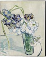 Framed Still Life, Vase of Carnations, June 1890