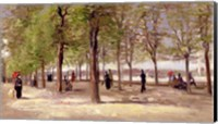 Framed Terrace in the Luxembourg Garden, 1886