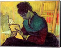 Framed Novel Reader, 1888