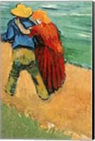 Framed Pair of Lovers, Arles, 1888