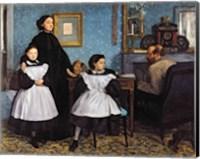 Framed Bellelli Family