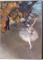Framed Star, or Dancer on the Stage