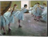 Framed Dancers at Rehearsal