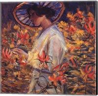 Framed In the Garden, 1917