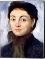 Framed Portrait of Josephine Gaujelin, 1867