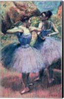 Framed Dancers in Violet
