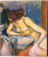 Framed Toilet, 1897