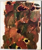 Framed Sunflowers II, 1911