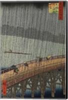 Framed Sudden Shower