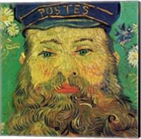 Framed Joseph Roulin (detail)