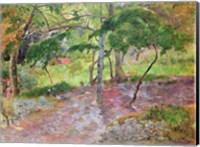 Framed Tropical Landscape, Martinique, 1887