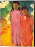 Framed Piti Tiena, 1892