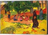 Framed Taperaa Mahana, 1892