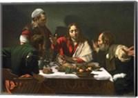 Framed Supper at Emmaus, 1601