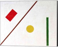 Framed Suprematist Composition, 1915 (detail 2)
