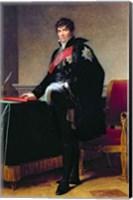 Framed Count Michel Regnaud de Saint-Jean-d'Angely