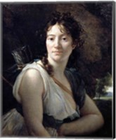 Framed Mademoiselle Duchesnoy in the Role of Dido