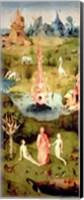 Framed Garden of Earthly Delights: The Garden of Eden