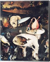 Framed Garden of Earthly Delights: Hell, triptych right