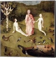 Framed Garden of Earthly Delights, c.1500, Detail