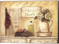 Framed Garden Bath