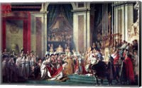 Framed Consecration of the Emperor Napoleon II