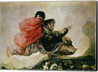 Framed Witches' Sabbath (detail)
